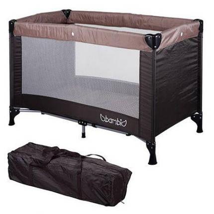 Детский манеж-кровать BAMBI M 3658-17, фото 2