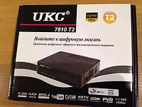 Цифровой эфирный DVB T2 тюнер UKC 7810 просмотр YouTube!!!