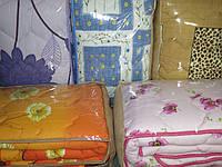 Стеганое одеяло Вилюта 100% шерсть Бязь (200х220), фото 1