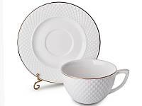 Чайный набор Cup and Saucer на 12 предметов 359-346
