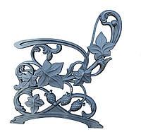 Боковина лавки садово-парковой чугунная с подлокотником № 18