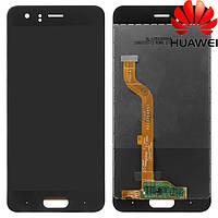 Дисплейный модуль (дисплей + сенсор) для Huawei Honor 9, STF-L09, STF-L19, черный, оригинал