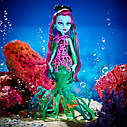 П, Кукла Monster High Great Scarrier Reef Down Under Ghouls Posea Reef Doll Поси Риф, фото 3