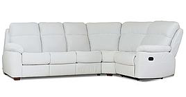 """Новый угловой диван с реклайнером """"Alabama"""" (Алабама)"""