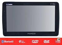 """Автомобильный GPS-Навигатор 7"""" Pioneer 704 (4 GB)"""
