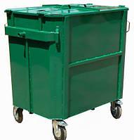 Металлический контейнер для мусора ЕКП-1,1