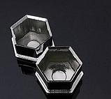 Захисні пластикові кришки на колісні гайки 21 мм хром, фото 3