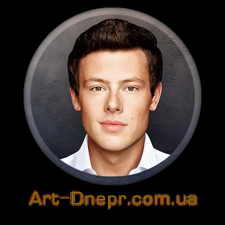 Портрет на керамограните, круг .25Х25 см без фаски