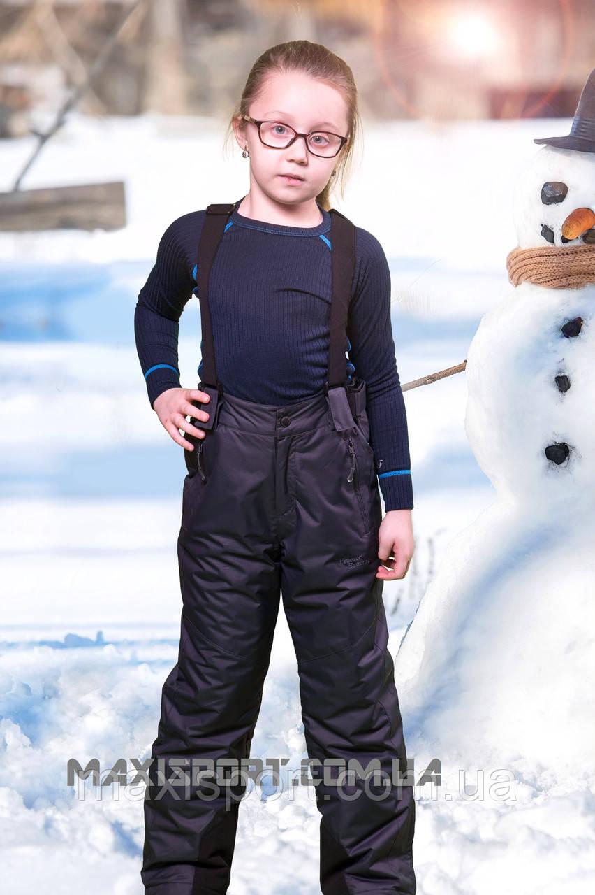 Детские лыжные брюки TF 6708 Darkgrey