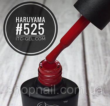 Гель-лак Haruyama №525 (красно-малиновый), 8 мл, фото 2
