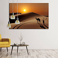 Картина - Верблюд в пустыне