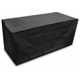 Водонепроницаемый чехол на маленький столик садовую мебель - Чёрный