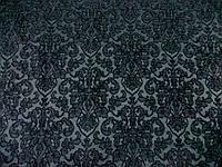 Костюмка Жаккард (черный) (арт. 06316) отрез 0,86 м