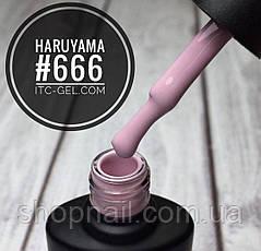 Гель-лак Haruyama №666 (пастельный холодный розовый), 8 мл, фото 2