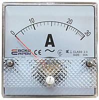 АС Амперметр прямого включения 30А Модель А-80