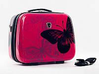 Кейс Madisson 16820 с бабочкой, Розовый