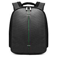 Huwang 7499 Открытый рюкзак камеры для Nikon / Canon Чёрный и зелёный