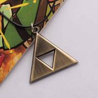 Кулон с подвеской треугольной формы 83439