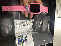 Детские смарт часы Smart Baby Watch ds28 розовый