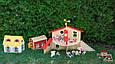 Кукольный домик Дорожный с ручкой из натурального дерева Goki 51780G, фото 9