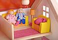 Кукольный домик Дорожный с ручкой из натурального дерева Goki 51780G, фото 4