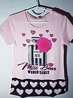 Яркая и красивая футболка на 6 лет