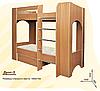 Детская двухъярусная кровать с ящиком для белья Дуэт-2, фото 8