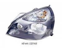 Фара передняя для Renault Clio '01-05 /Symbol '01-12 левая (DEPO) электрич., серая 551-1138L-LDEM6