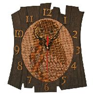 """Набор для создания часов с вышитой основой """"Время мудрости"""", 28*29см(РТ6511)"""