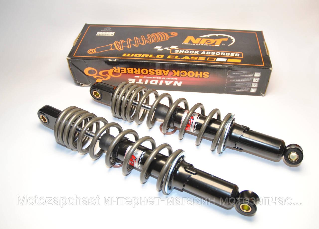 Амортизаторы Альфа/Дельта 340 мм мягкие NDT металлик