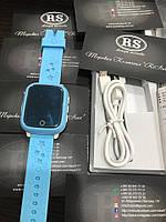 Детские смарт часы Smart Baby Watch ds28 синий