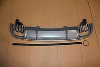 Диффузор заднего бампера Audi A4 2015-