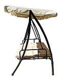 Качель садовая Драгон раскладная 3-х местная Ranger НС 101 качеля (бесплатная доставка), фото 6