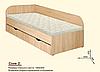 Детская/подростковая кровать Соня-2 с ящиками для белья, фото 4