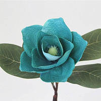 1 Филиал Классический Капок Европейский стиль Домашнее украшение Искусственный цветок Синий
