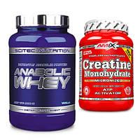 Scitec Nutrition Anabolic Whey  | Amix Nutrition Creatine monohydrate