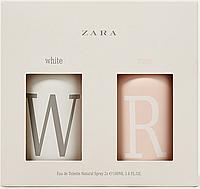 ZARA White / Rose 100ml + 100ml  туалетная вода женская (оригинал подлинник  Испания)