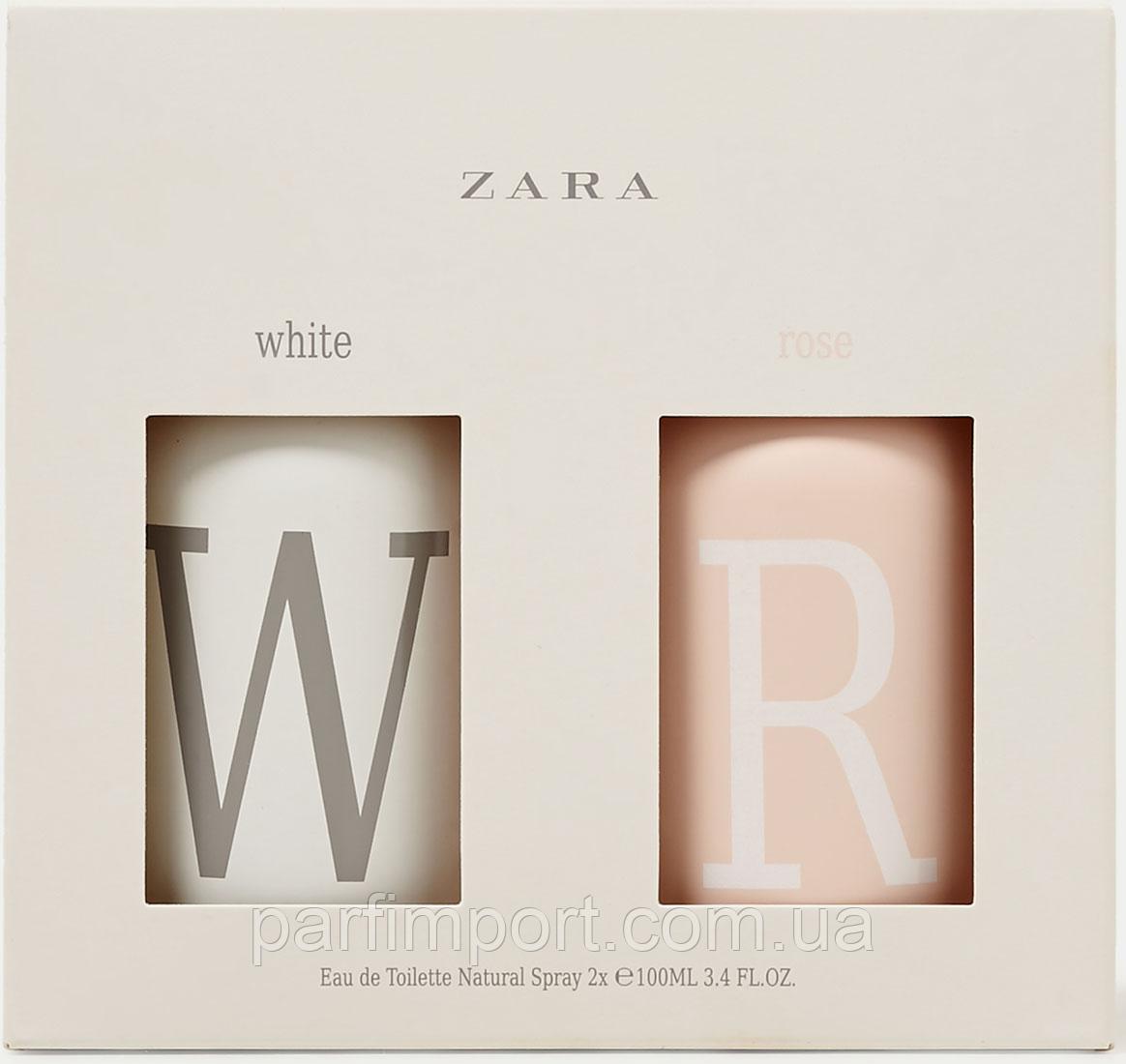 Zara White Rose 100ml 100ml туалетная вода женская оригинал