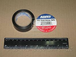 Изолента черная ABRO (арт. ET-912 BL)