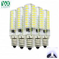 5шт YWXLight 4W E12 Мини-светодиод для канделябра внутреннее декоративное освещение AC 200-240V Холодный белый свет