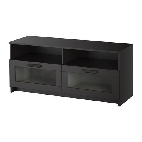 """IKEA """"БРИМНЭС"""" Тумба под ТВ, черный, Размер 120x53 см"""