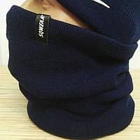 Очень теплый и практичный баф/ снуд/ хомут. Качество супер! Подкладка из флиса! Цвет: Dark Blue
