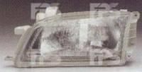Фара передняя для Toyota Carina E '92-97 левая (DEPO) механич., пластмас. рассеиватель 212-1147L-LD