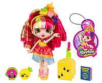 Кукла шопкинс сезон 8, Донатина, Shopkins Shoppies Donatina Visits Brazil оригинал из США, фото 1