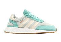 Adidas Iniki Runner Teal/Grey. Интернет магазин спортивной обуви. Стильные кроссовки.