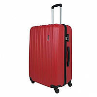 Чемодан Bagia 110 Большой, Красный, дорожный чемодан на колесиках