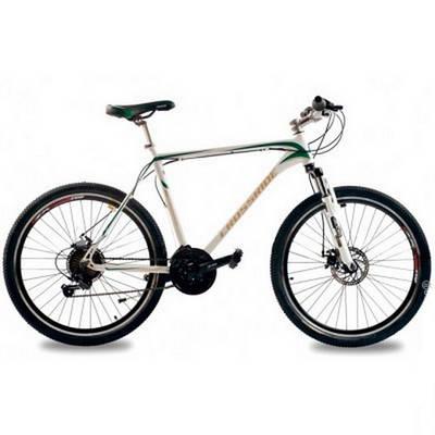"""Горный велосипед CROSSRIDE WILSON 26"""" 19""""  Белый/Зеленый"""