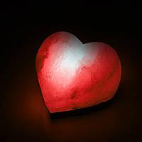 Соляная лампа SALTKEY LOVE Red