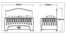 Электрокамин Dimplex Opti-Myst Westbrook, фото 2