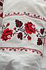 Традиционная белая женская вышиванка с розами, рукав  ¾  , фото 5